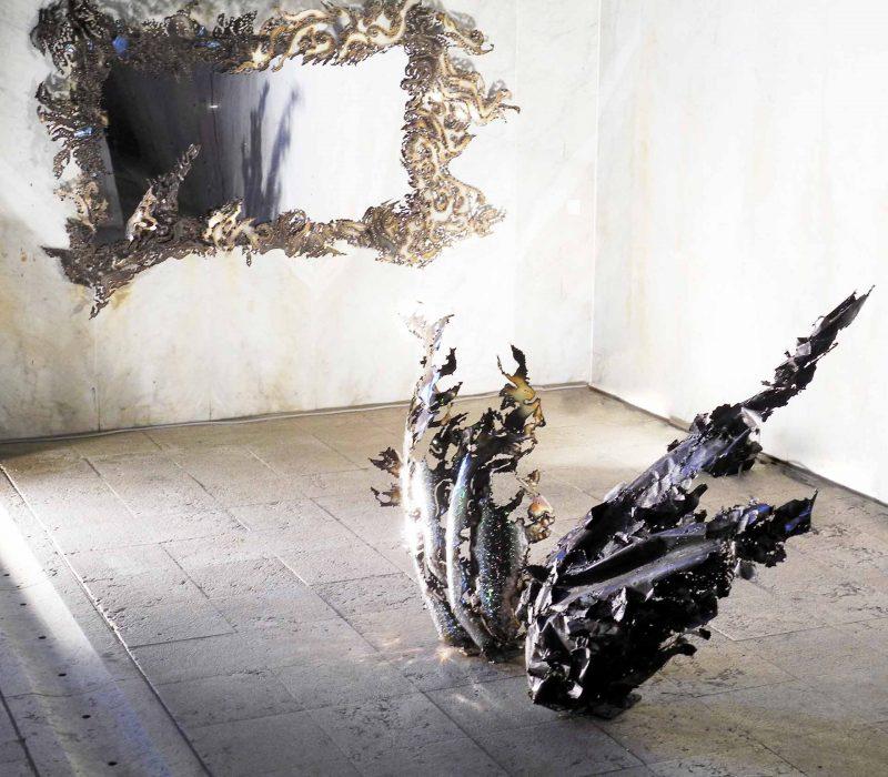 Cornice Specchio Orizzontale - Visione Intera