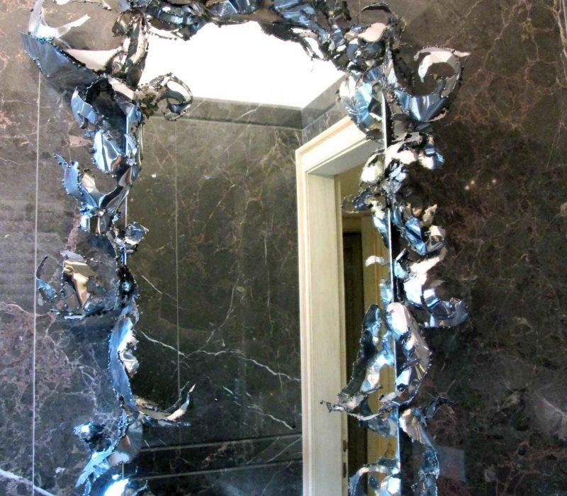 Cornice Specchio Verticale - Visione Intera 2